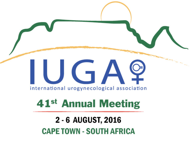 Dr. Murphy Internationally recognized at IUGA 2016
